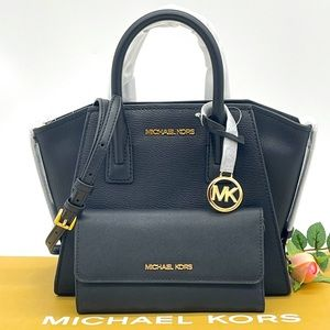Michael Kors Small Avril Satchel & Trifold Wallet